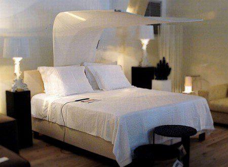 Элегантная кровать с системой вентиляции