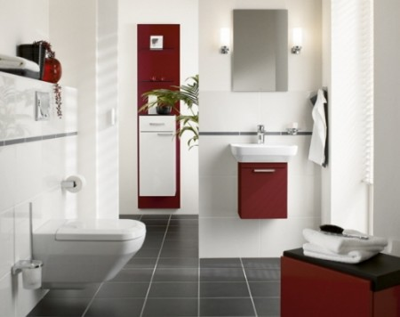 интерьеры ванных комнат и туалетов