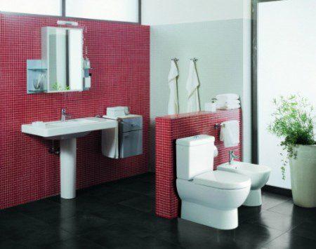 интерьер ванной и туалета фото
