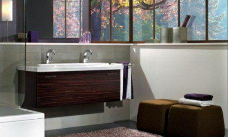 интерьеры маленьких ванных комнат