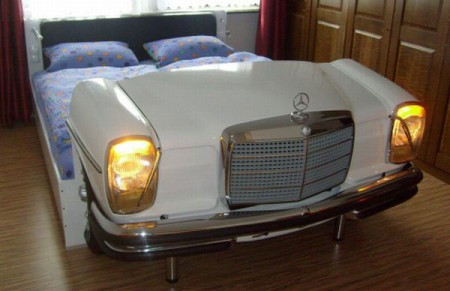 дизайн кровати машины фото