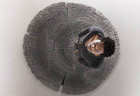 Ковер, который напоминает дерево