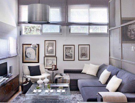 Красиво украшенные 48 квадратных метров квартиры