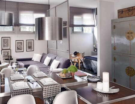 дизайн интерьера маленькой квартиры фото