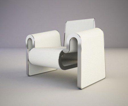 Красивый минималистский стул дизайнера Svilen Gamolov
