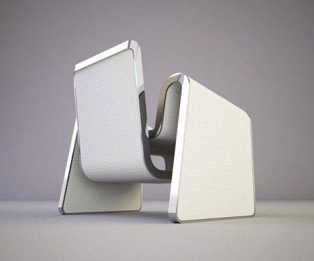 фото белого стула