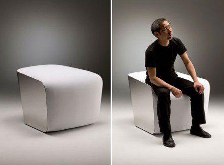 Кресло японского дизайнера Ямамото Тацуо, Милан 2010