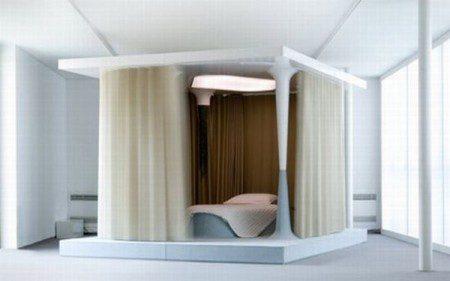 дизайн необычной кровати