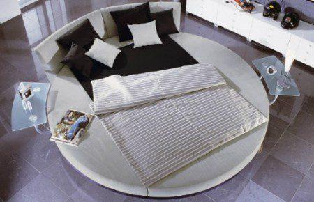 Круглая кровать Circolo