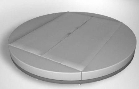 фото круглой кровати