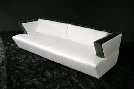Мебель с изменением цвета обивочного материала, Милан 2010