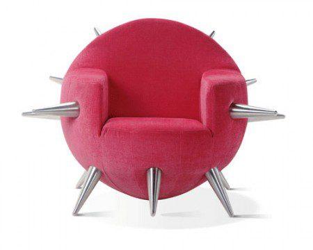 Смешной стул «Бомба» дизайнера Adrenalina