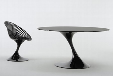 Современный стул и стол от Casprini