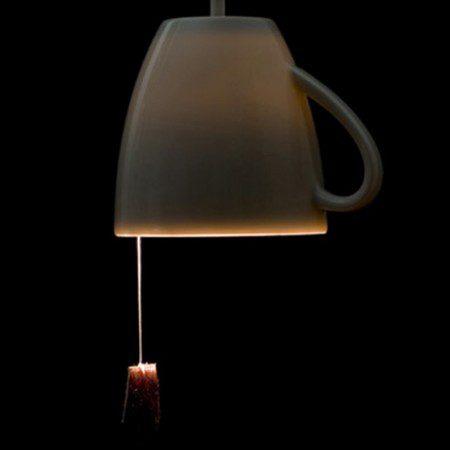 необычный светильник фото