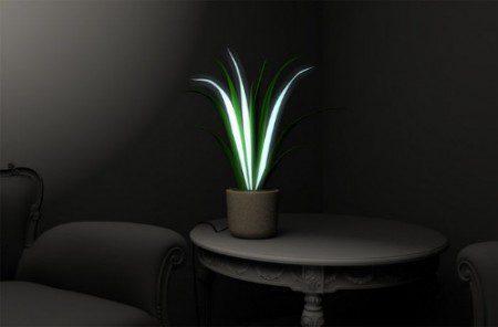 лампа в виде вазона фото