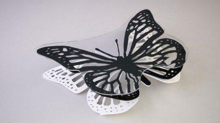 Журнальный столик в виде бабочки дизайнера Svilen Gamolov