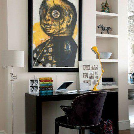 34 новые идеи для украшения домашнего офиса