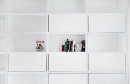 фото современной квартиры в черно-белых цветах