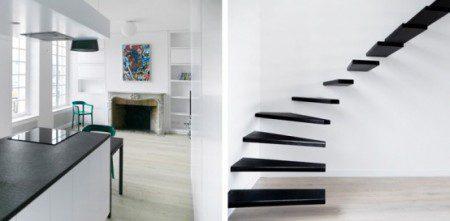 фото стальной лестницы