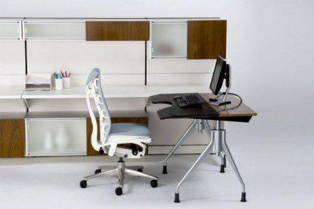 Элегантный регулируемый стол от Германа Миллера