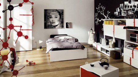 дизайн интерьера комнаты девушки тинейджера