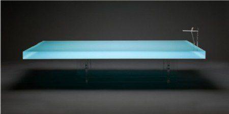 Кофейный столик, который напоминает бассейн