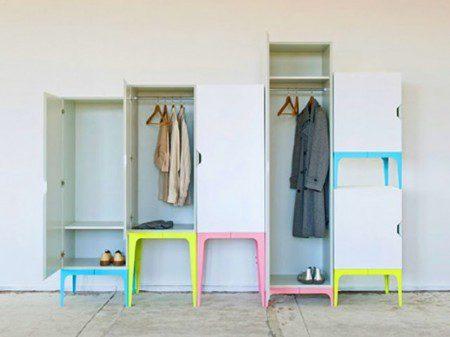 Оригинальная и забавная модульная система гардероба - Modrobe