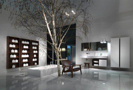 Полная и многосторонняя модульная система мебели для ванной - Венето от Falper