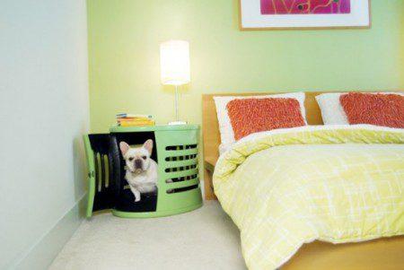 Современные столы-ящики для собак от DenHaus