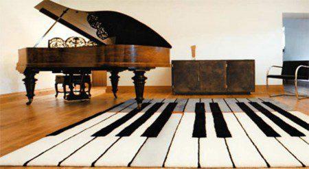 фото ковра виде клавиш музыкального интсрумента