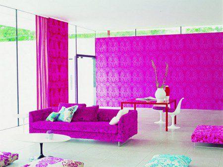 фото розовых комнат