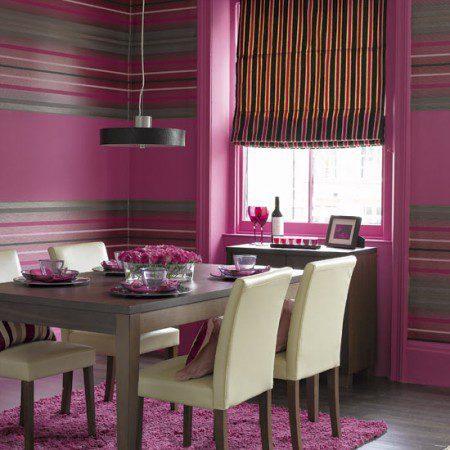 интерьер розовой комнаты