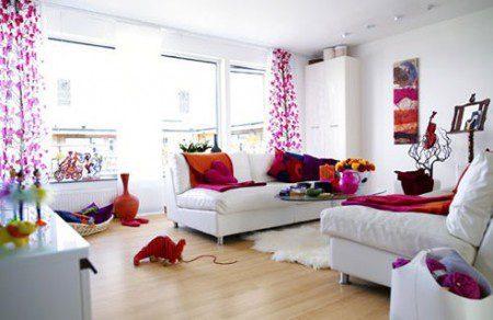 дизайн розовой комнаты