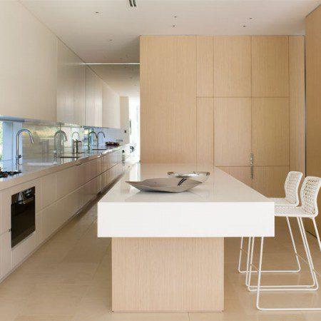 дизайн интерьера кухни в пентхаусе