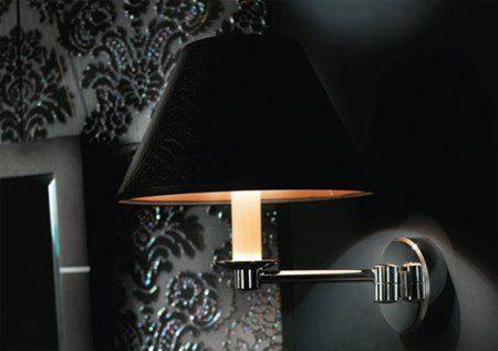 Настенная лампа для создания классического стиля в ванной комнате