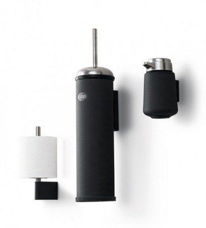 Настенные аксессуары для ванной комнаты из нержавеющей стали и каучука
