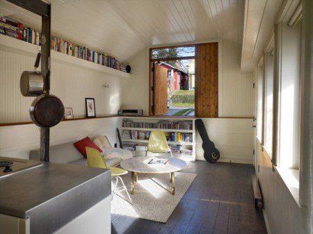 Переделка гаража в современное жилое пространство