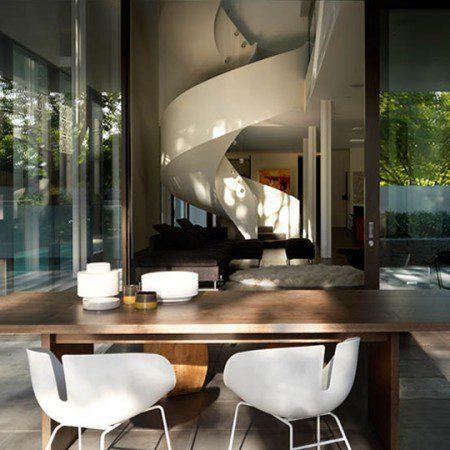 фото столовой в загородном доме