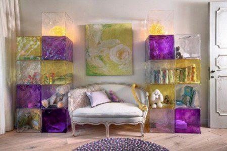 фото детской комнаты в фиолетовых тонах