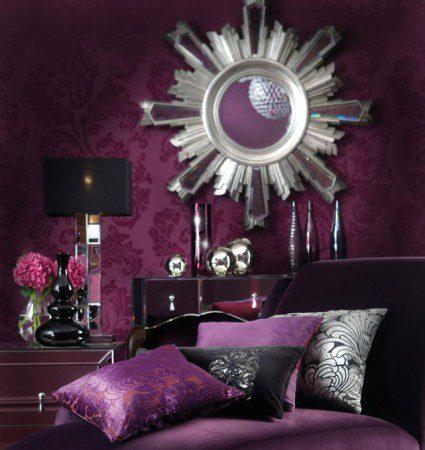 фиолетовая комната