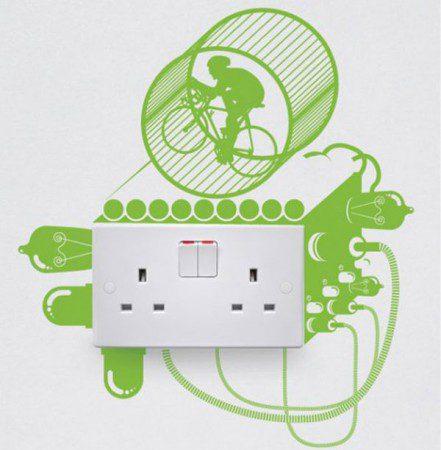 7 творческих наклеек для выключателей