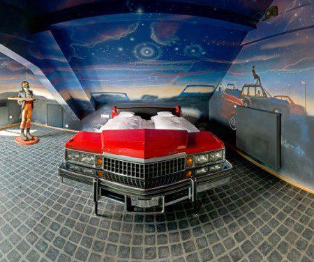 10 идей оформления комнаты в автомобильном стиле