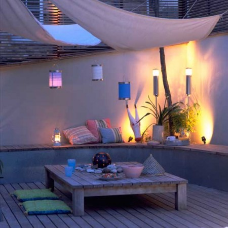 площадка для отдыха на даче