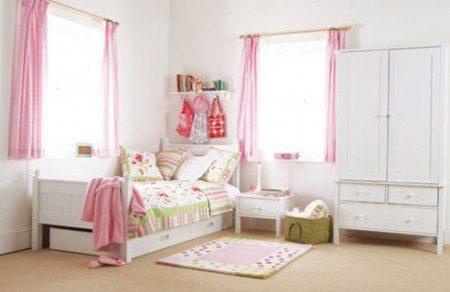интерьер детской спальни для девочки