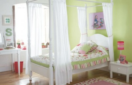 интерьер спальни для девочки