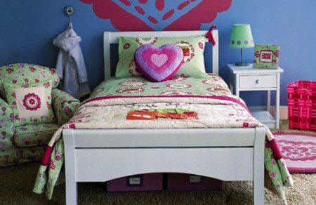 спальня для девочки 11 лет