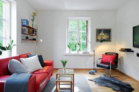 Идея по созданию уютной маленькой квартиры