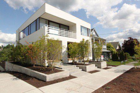 Колман триплекс, дерзкая современная архитектура в Сиэтле