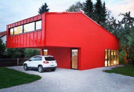 Маленький дом c простым и удобным дизайном