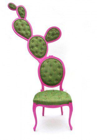 Мексиканский кактус вдохновил на создания французского овального стула